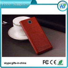 Free Samples mobile phone corporate ultra thin power bank