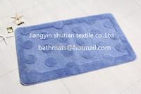 latex carpet backing pp bathroom set