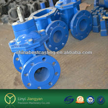 ISO custom cast iron spare parts--sand casting products iron and die cast iron