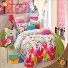 LOVO Tuzki Olympics 100% Cotton cartoon bed linen kids bedding set bedclothes bed sheet duvet cover pillowcase comforter