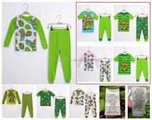 high quality printing children pajamas excess FV401 kids pajamas set stocklots