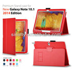 Leather Case Cover for Samsung Galaxy Note 10.1 2014 Edition stand case