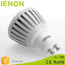Super Bright Warm/White 85-265V 5W LED lamp light cob GU10 led Spotlight