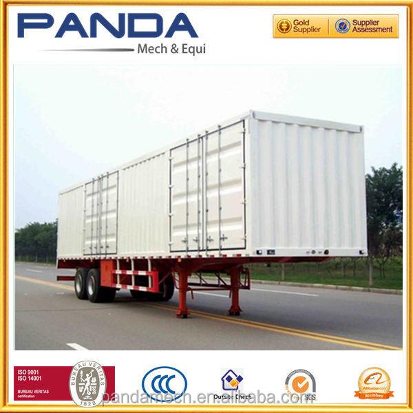 Fábrica china seco <span class=keywords><strong>van</strong></span> de carga del remolque