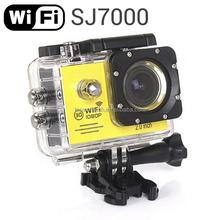 WiFi Action 1080P Full HD Helmet DV Camcorder 30M Waterproof Diving sj7000 digital camera