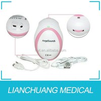 Portable angel sounds fetal doppler with cheap price& high quality