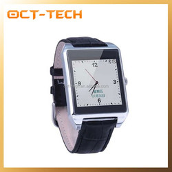 Cheap Android 4.4 smart watch phone bluetooth,New GPS watch phone with metal strap