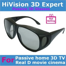 plastic frame Linear or Circular polarized Real D 3d glasses