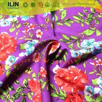 Hot sale 100 polyester wool peach print fabric in Pakistan