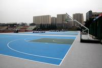 Anti slip water proof interlocking plastic sport court tiles used for sport court