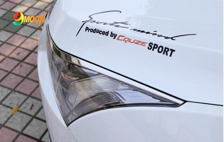Хромовые накладки для авто chevrolet cruze cruze