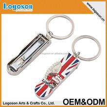 2015 top quality zinc alloy silver finish custom logo novelty gift souvenir whistle keychain