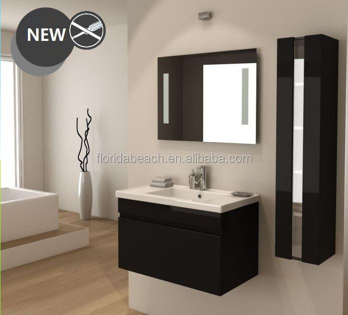 Concep o moderna casa de banho m veis de madeira arm rio - Vanite de salle de bain pas cher ...