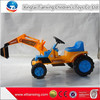 High quality best price kids indoor/outdoor sand digger battery electric ride on car kids high quality kids sandbox digger