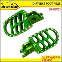 NEX ALUMINUM DIRT BIKE FOOT PEGS FOR KAWASAKI KXF450