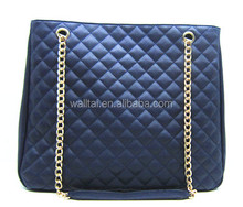 Latest design women tote bag PU material wholesale in China