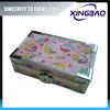 Fancy pencil box,standing pencil case with Velvet and bag inner,plain pencil case