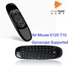 Original 2.4Ghz Mini Keyboard Air Mouse T10 C120, Fly Mouse for Android TV Box