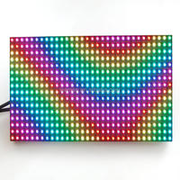 hot new products p7.62 led screen module, indoor dual color p7.62 led module 64x32