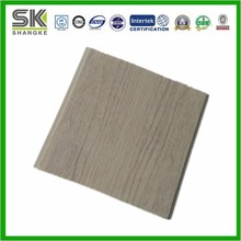 Wood design laminated PVC wall panels import building material from china