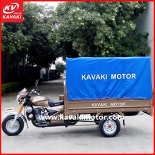 2015 Half Closed New Motor 3 Wheel Cargo Electric Tricycle / Cargo Carrier Bike For Sales