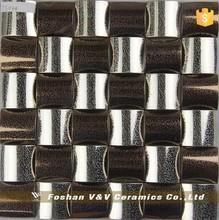 Metal Stainless Steel Arch Mosaic Tile Wall Backsplash Mosaic,Mosaic Tiles