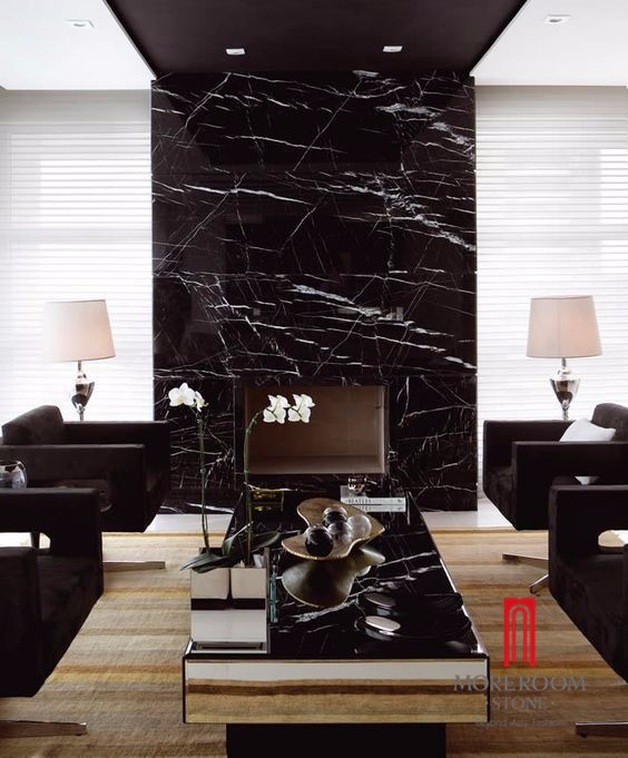 Spain Black Marquina Marble Slab (1).jpg