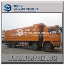 Shacman 8x4 380HP 40T right hand drive left hand drive standard dump truck dimension