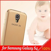 Two in One Aluminum Metal Frame Bumper with PC Back shell Case for Samsung Galaxy s4 I9500