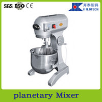 Planetary mixer for bakery and pastry industries