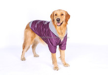 Large Dog Clothes Warm Pet Apparel Fashion Purple Dog Coats Winter