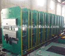 conveyor belts curing press/steel and fabric core belt molding press
