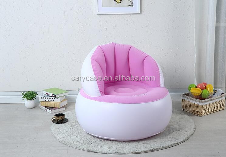 Jilong Inflatable Air Sofa Beanbag Chair Folding Single Cute ...