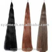 smooth various high quality horse tail hair