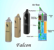 Vaporizer wax pen Falcon built-in water tank wax pen powerful vaporizer