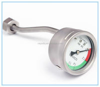 miniature bourdon tube pressure gauges 111.12.27 wika pressure gauge double pointer pressure gauge