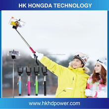 Wholesale gift trending hot product monopod selfie stick with cable take pole selfie stick z07-5s
