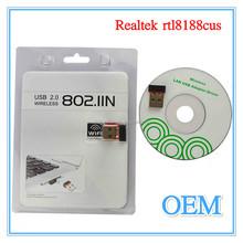 Wholesale 150Mbps RTL8188CU Wireless USB WIFI Lan Adapter / USB External Lan Card Wifi receiver