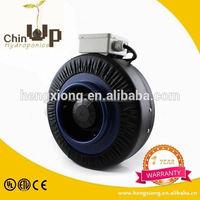 exhaust inline fan speed controller/ 6 inch inline duct fan /hydroponics inline fan