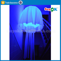 new products 2m diameter inflatable jellyfish china supplier
