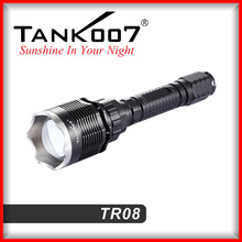 Famous brand flashlight 1000 Lms powerful torch light for police army