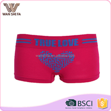 China supplier top material nylon beautiful ladies seamless underwear