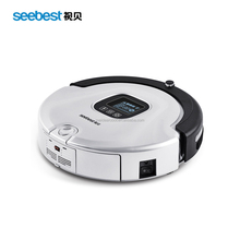 Seebest C565 Robotic Vacuum Cleaner with Latest Fashion Design and Voice Prompt Function,Carpet Cleaner Equipment