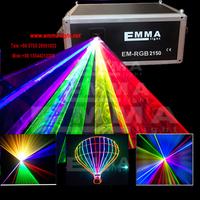 10w Red Green blue 3D Effect Laser DMX Light DJ Disco Party Club Lighting