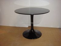 fiberglass round table,garden table,outdoor round lounge table