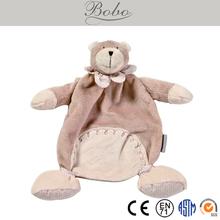 High Quality Cute Baby Doudou/Comforter in Rabbit/Bear Shape