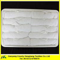 Plain Thick Cotton Disposable Hand Hospital Towel