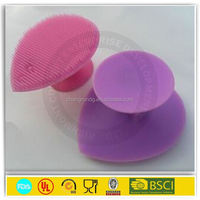 Promotion factory price silicone face cleaning brush/silicone make up brush