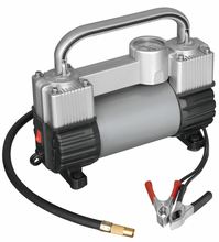 12V DOUBLE CYLINDER Mini car air compressor Mini Car Air Pump Auto tire inflator