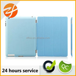 Factory wholesale high quanity leather case for ipad 4,for ipad 4 leather case